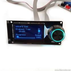 LCD pantalla mini 12864 RGB