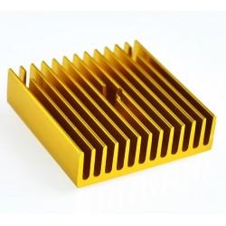 Radiador Disipador 40x40 Dorado